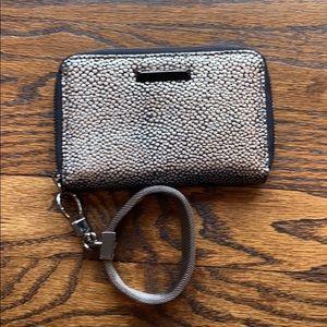 Elizabeth and James metallic wallet/wristlet